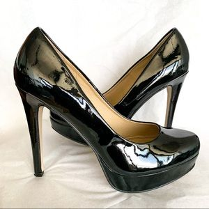 Chinese Laundry Wow Black Patent Platform Pumps